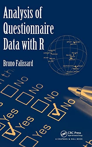 9781439817667: Analysis of Questionnaire Data with R