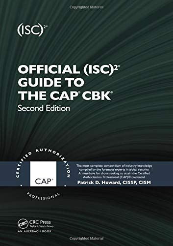 9781439820759: Official (ISC)2® Guide to the CAP® CBK® ((ISC)2 Press)