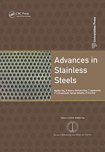 Advances in Stainless Steels: Raj, Baldev (EDT)/
