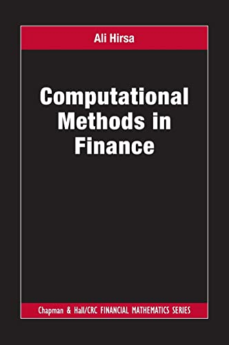 9781439829578: Computational Methods in Finance (Chapman and Hall/CRC Financial Mathematics Series)