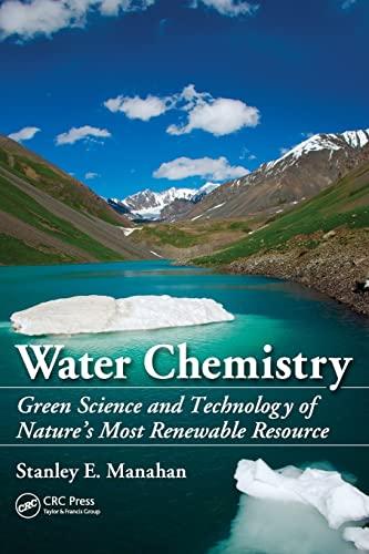 9781439830680: Water Chemistry