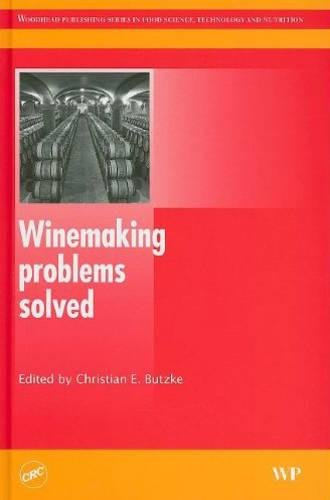 9781439834169: Winemaking Problems Solved (Woodhead Publishing Series in Food Science, Technology and Nutrition)