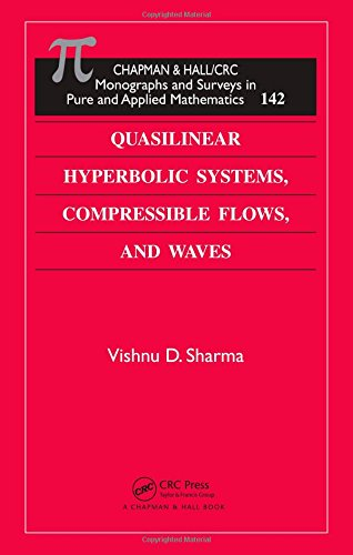 9781439836903: Quasilinear Hyperbolic Systems, Compressible Flows, and Waves