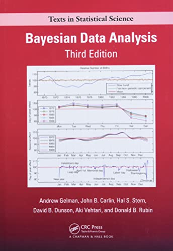 9781439840955: Bayesian Data Analysis, Third Edition (Chapman & Hall/CRC Texts in Statistical Science)