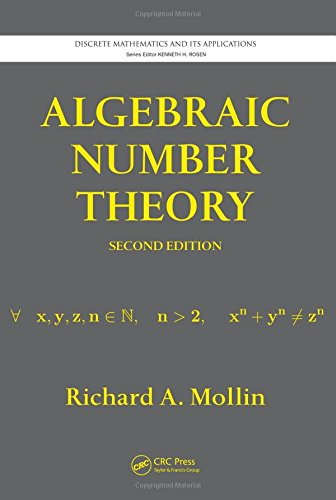 9781439845981: Algebraic Number Theory, Second Edition (Discrete Mathematics and Its Applications)