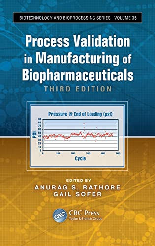 9781439850930: Process Validation in Manufacturing of Biopharmaceuticals, Third Edition (Biotechnology and Bioprocessing)