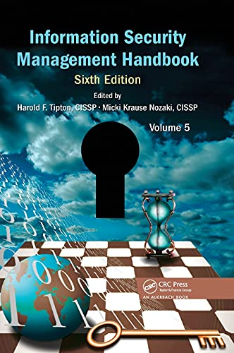 Information Security Management Handbook: Volume 5 (Hardback)