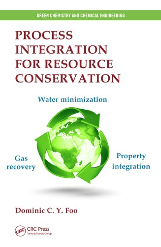 9781439860489: Process Integration for Resource Conservation (Green Chemistry and Chemical Engineering)