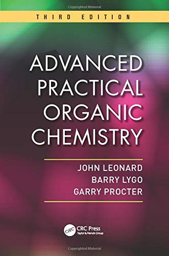 9781439860977: Advanced Practical Organic Chemistry, Third Edition
