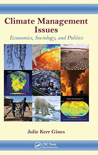 9781439861066: Climate Management Issues: Economics, Sociology, and Politics