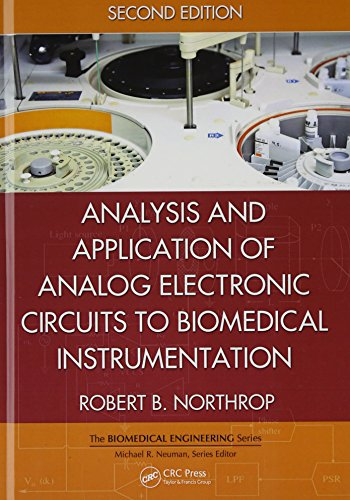 9781439866696: Analysis and Application of Analog Electronic Circuits to Biomedical Instrumentation, Second Edition (Biomedical Engineering)
