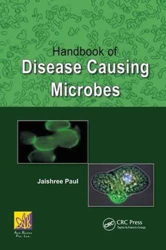 9781439866788: Handbook of Disease Causing Microbes