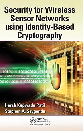 9781439869017: Security for Wireless Sensor Networks using Identity-Based Cryptography