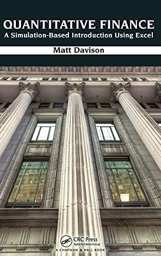 9781439871683: Quantitative Finance: A Simulation-Based Introduction Using Excel