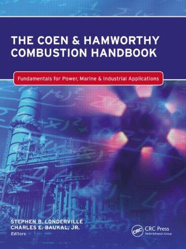 9781439873335: The Coen & Hamworthy Combustion Handbook: Fundamentals for Power, Marine & Industrial Applications (Industrial Combustion)