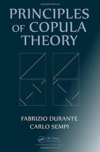 9781439884423: Principles of Copula Theory