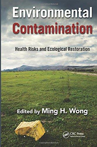 9781439892381: Environmental Contamination: Health Risks and Ecological Restoration