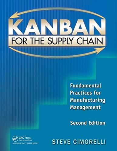 Kanban for the Supply Chain (Paperback): Stephen Cimorelli