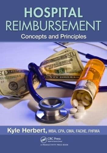 9781439898949: Hospital Reimbursement: Concepts and Principles