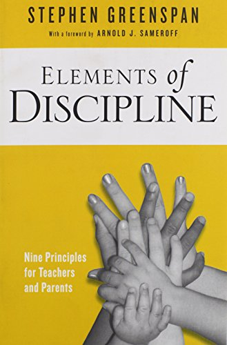 9781439908976: Elements of Discipline: Nine Principles for Teachers and Parents