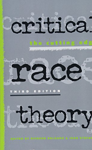 Critical Race Theory: The Cutting Edge: Jean Stefancic