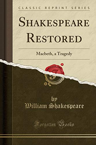 9781440032950: Macbeth: A Tragedy (Classic Reprint)
