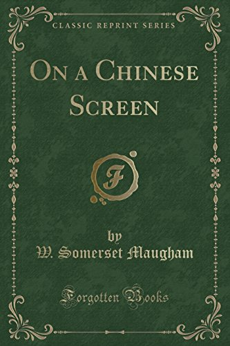 9781440035111: On a Chinese Screen (Classic Reprint)