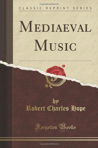 9781440035302: Mediaeval Music (Classic Reprint)