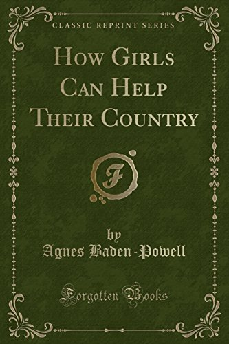 9781440036996: How Girls Can Help Their Country (Classic Reprint)
