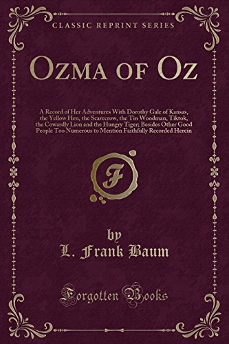 9781440041921: Ozma of Oz (Classic Reprint)