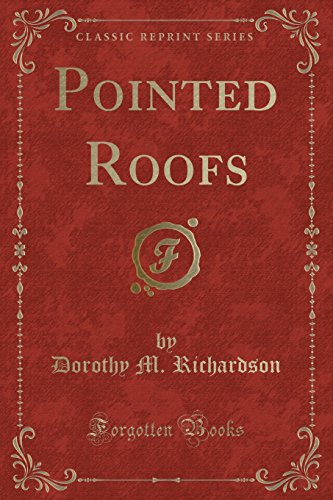 9781440051432: Pointed Roofs (Classic Reprint)