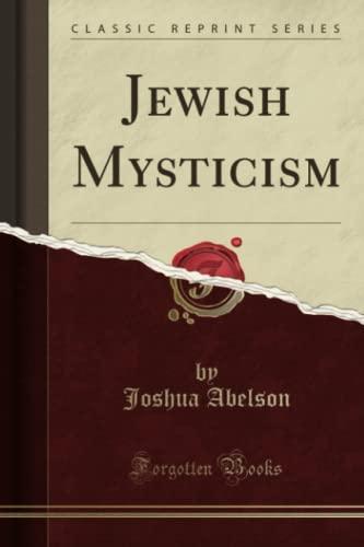 9781440054617: Jewish Mysticism (Classic Reprint)