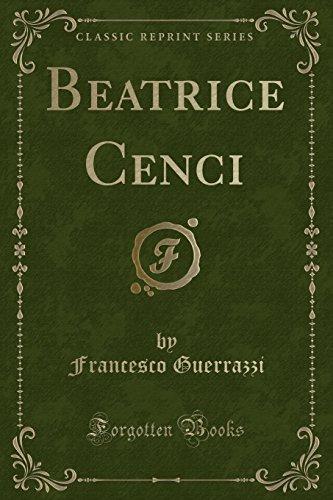 9781440093982: Beatrice Cenci (Classic Reprint)