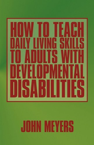 9781440113192: How To Teach Daily Living Skills to Adults with Developmental Disabilities