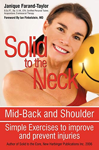 Solid to the Neck, Mid-Back and Shoulder Simple Exercises to improve and prevent injuries: Janique ...
