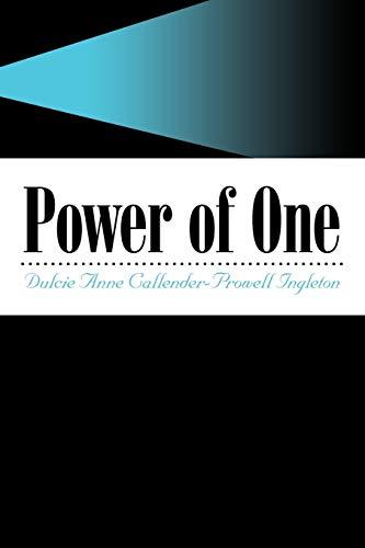 Power of One: Dulcie Anne Callender-Prowell Ingleton