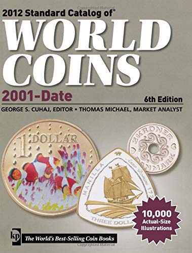 2012 Standard Catalog of World Coins 2001