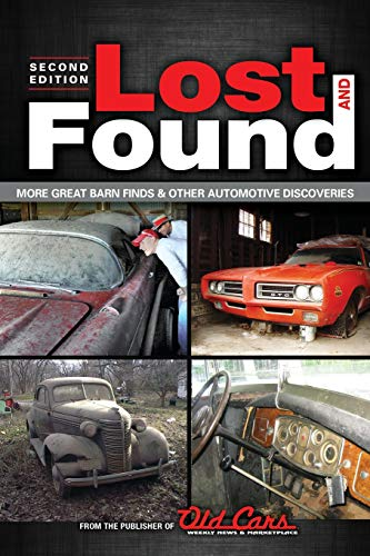 Lost and Found 2: More grear barn finders & other automotive discoveries: Old Cars Weekly Staff