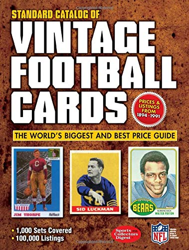 9781440232893: Standard Catalog of Vintage Football Cards