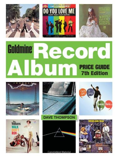 9781440234965: Goldmine Record Album Price Guide, 7th edition