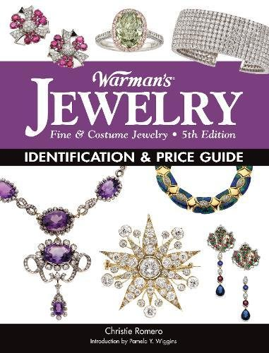 Warman's Jewelry 9781440235979 The Timeless Appeal of Jewelry! Offering both significant historical information and lavish images of gorgeous jewelry, the newest edition of Warman's Jewelry informs and entertains, providing the best of both worlds while covering costume and fine jewelry from the 18th to 21st centuries. Thanks to television shows like Downton Abbey, which features Victorian, Edwardian, and Art Deco styles, and Mad Men, which has spawned a desire to accessorize with 1960s baubles, interest in antique and vintage jewelry is buzzing big today and inspiring more people to collect. In this new edition, you will find detailed descriptions and up-to-date pricing information for nearly 1,000 pieces of collectible jewelry from the 1760s through the 1960s, with fascinating, informative, and valuable background information in these categories: Late Georgian, and Early, Mid, and Late Victorian. Arts & Crafts, Art Nouveau, Art Deco, Beaux-Arts, and Edwardian. 20th Century Fine, Costume, Plastic and Novelty. Manufacturer marks, historic time line, and glossary. This invaluable price and identification guide is for anyone who owns old jewelry or is interested in starting a collection.