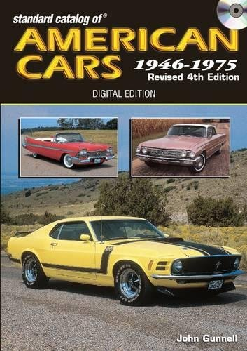 Standard Catalog of American Cars 1946-1975 CD: Gunnell, John