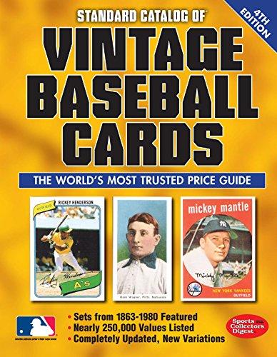 9781440242892: Standard Catalog of Vintage Baseball Cards