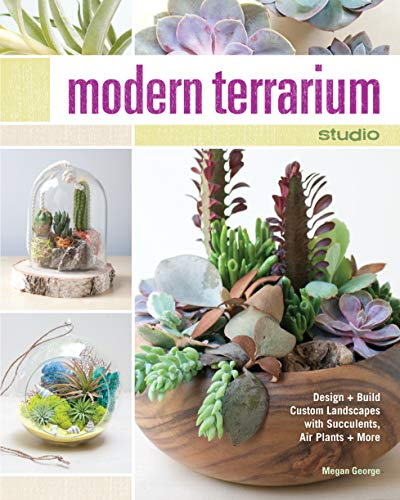 Modern Terrarium Studio: Design + Build Custom Landscapes with Succulents, Air Plants + More: Megan...