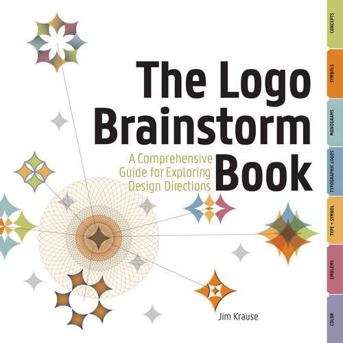 9781440304316: The Logo Brainstorm Book: A Comprehensive Guide for Exploring Design Directions [Blurb] Type, Color, Symbols, Concepts