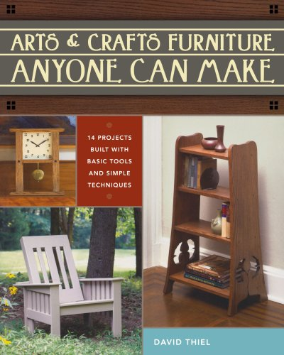 9781440306730: Arts & Crafts Furniture Anyone Can Make