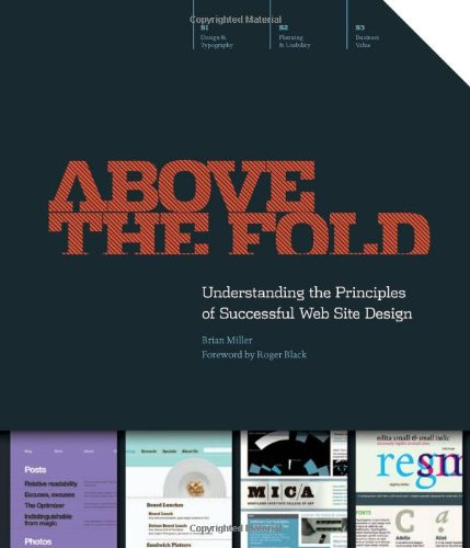 9781440308420: Above the Fold: Understanding the Principles of Successful Web Site Design