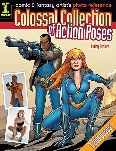 9781440309229: Colossal Collection of Action Poses: Comic & Fantasy Artist's Photo Reference (Comic/Fantasy Artist Photo Ref)