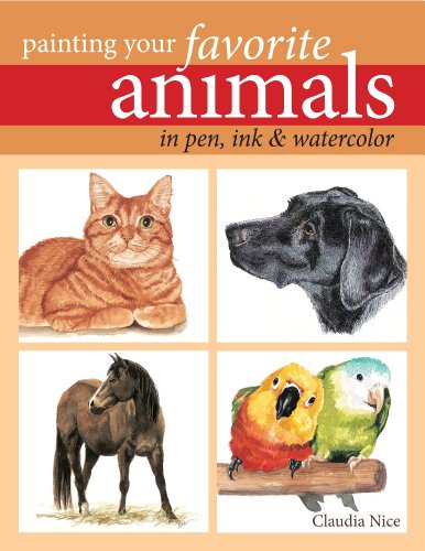 9781440311703: Painting Your Favorite Animals in Pen, Ink and Watercolor