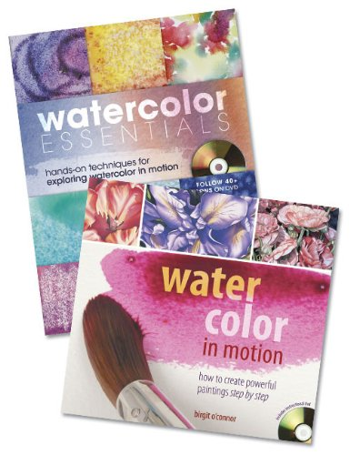 9781440312168: Watercolor Painting Lessons with Birgit O'Connor Bundle